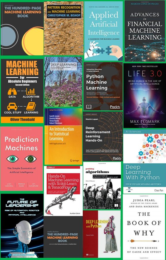 Top Books in AI and Machine Learning